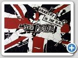 Anarchy In The UK: ceramic mosaic 62x80cm