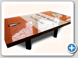 ceramic tile mosaic table