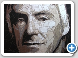 Paul Weller: stone tile mosaic 62x80cm